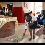 Thieves steal church money