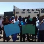 NBC workers protest against austerity measures