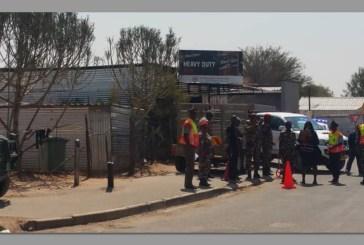 Fleeing suspect shot by soldier