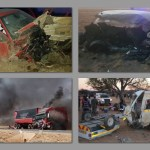 Dark weekend on Namibian roads