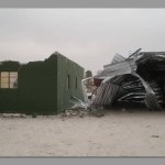 Windstorm damages buildings at Oniipa