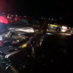 Drivers survive serious accident at the coast