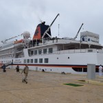 Walvis Bay welcomes another cruise ship