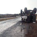 Three soldiers injured during MPV crash