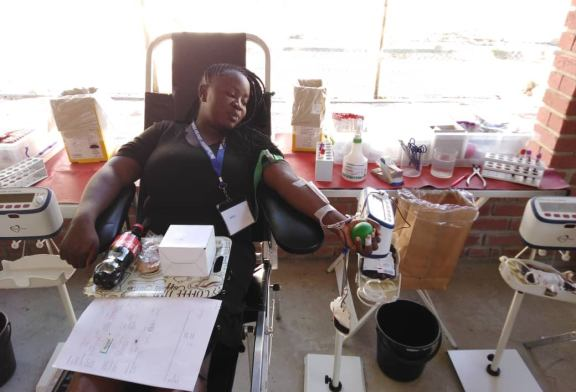 Trustco Far North employees donate blood