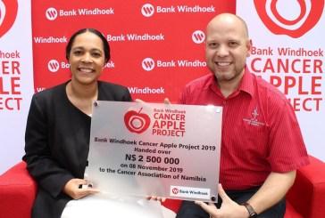 Cancer Apple project raises N$2.5 million
