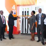 NAMCOR's unveils very first Namibian owned service station