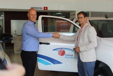 Cricket Namibia receives generous sponsorship