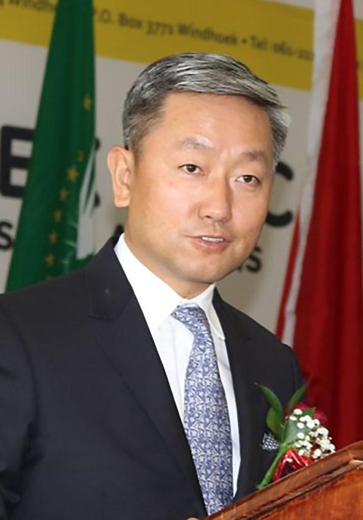 Chinese Ambassador students Namibia Hubei province