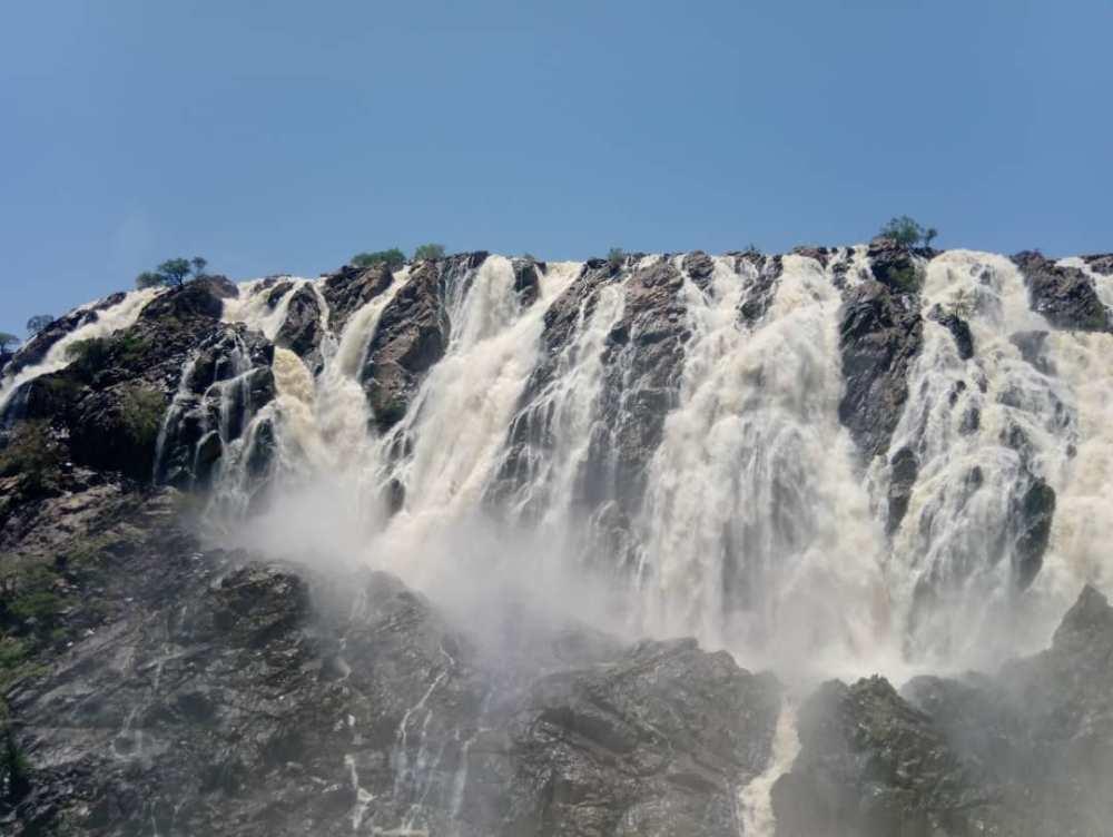 Kunene River Ruacana flow