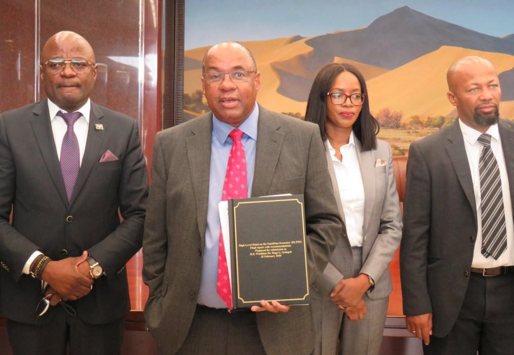 Namibian economy High Level Panel
