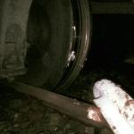 Minor derailment leaves passengers stranded