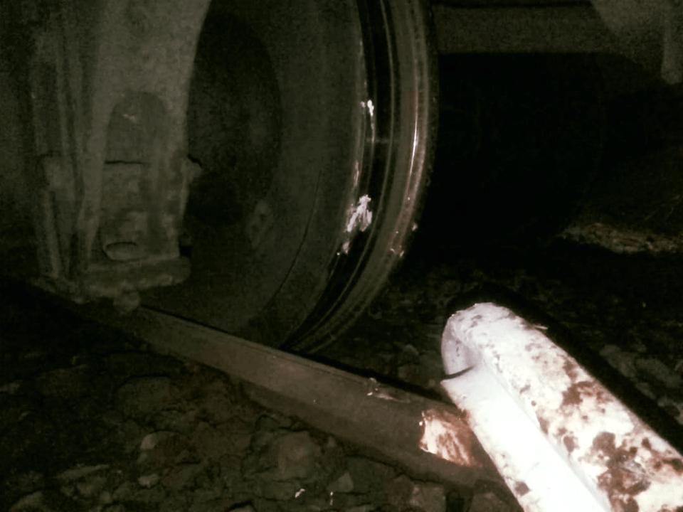 train windhoek derailed okahandja sunday
