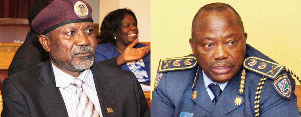Namholo court namibian police security