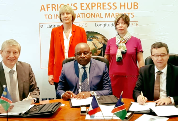 Namport signs tripartite MoU for development