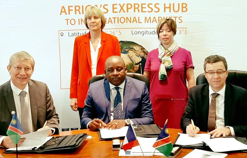 Namport develop terminal cargo Namibia