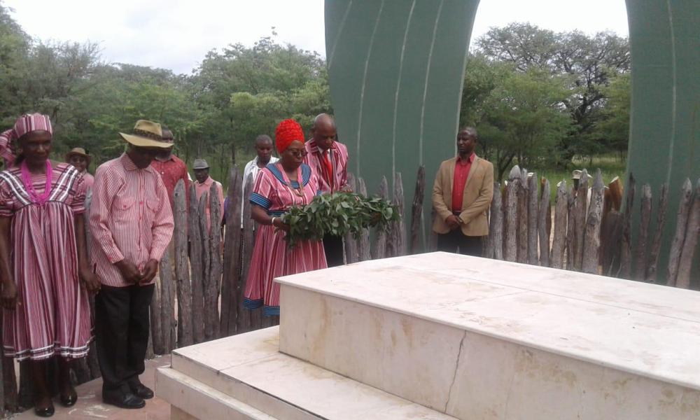 Nelumbu Mandume commemoration Ya Ndemufayo