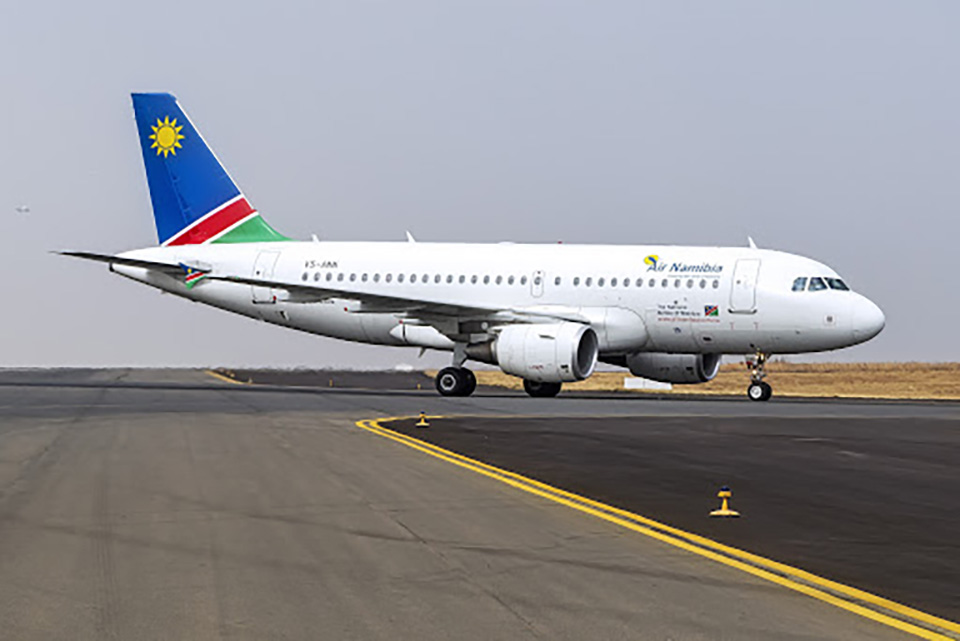 Air Namibia suspended managers