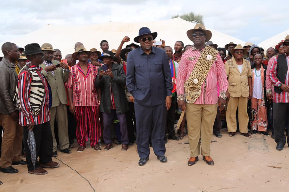 King Fillemon Shuumbwa Nangolo tradition change