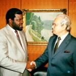 President lauds Pèrez de Cuèllar for pivotal role in Namibian Independence