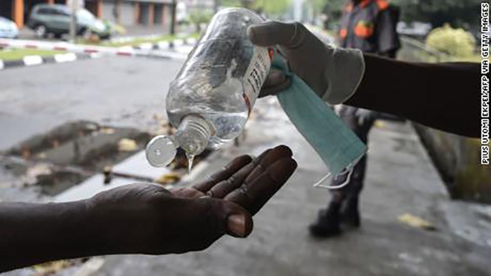 Coronavirus south africa health tourist tested positive