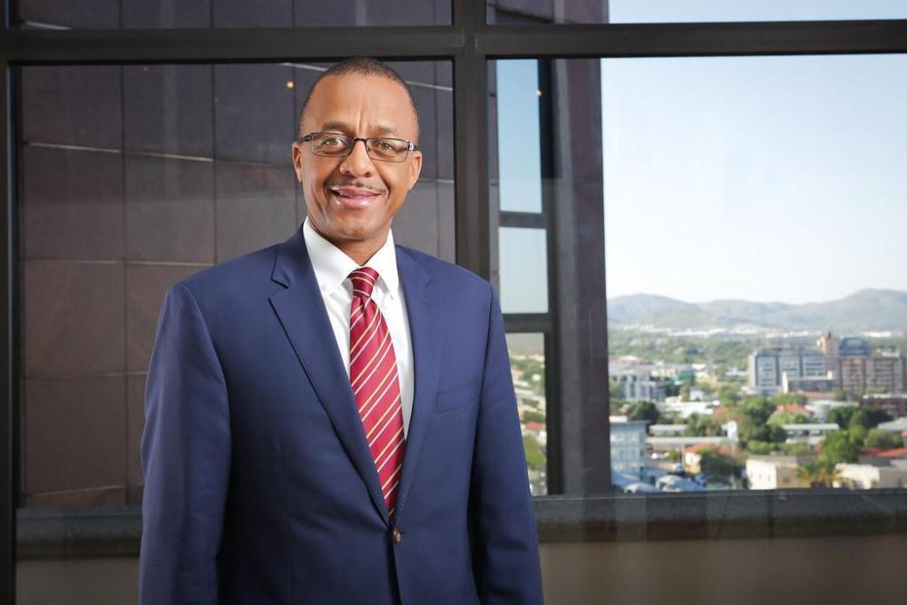 Bank Namibian Ebson Uanguta Executive