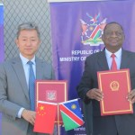 Namibia receives medical equipment from China