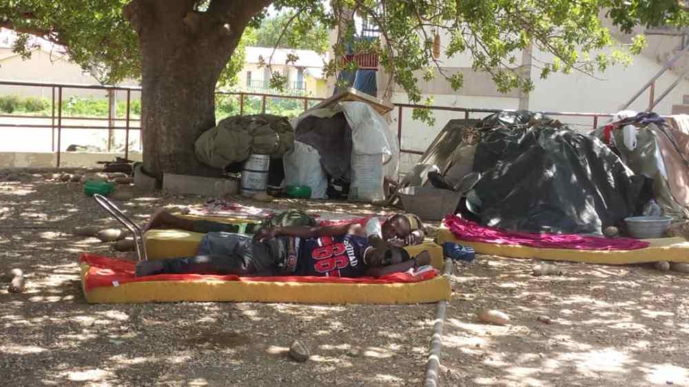 lockdown Katutura multipurpose Centre people shelter