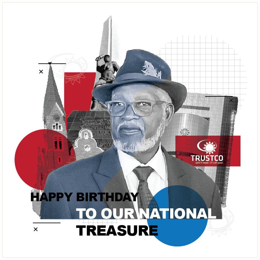 Founding Father celebrates 91st birthday Sam Nujoma President Hage Geingob Namibians