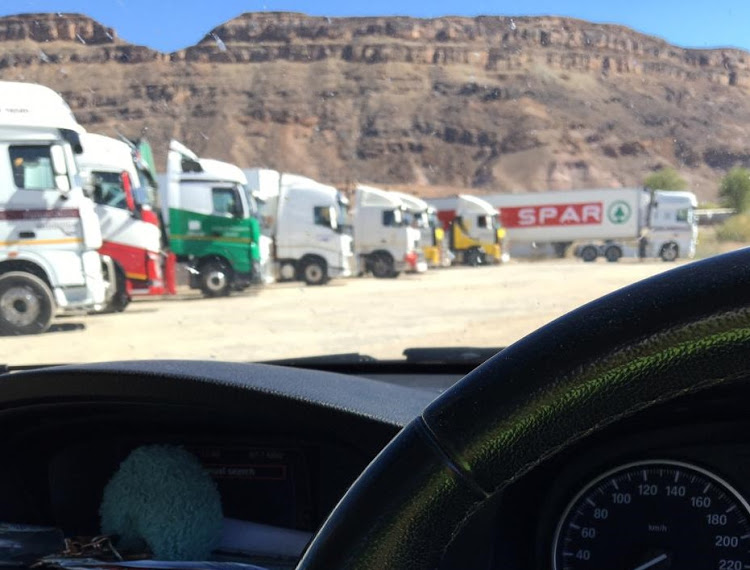 crisis reaching consequences Namibia striking South African immigration customs