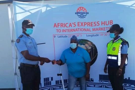 Namport donates generously towards fight against pandemic