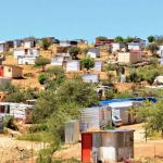 Informal settlements gradually upgraded