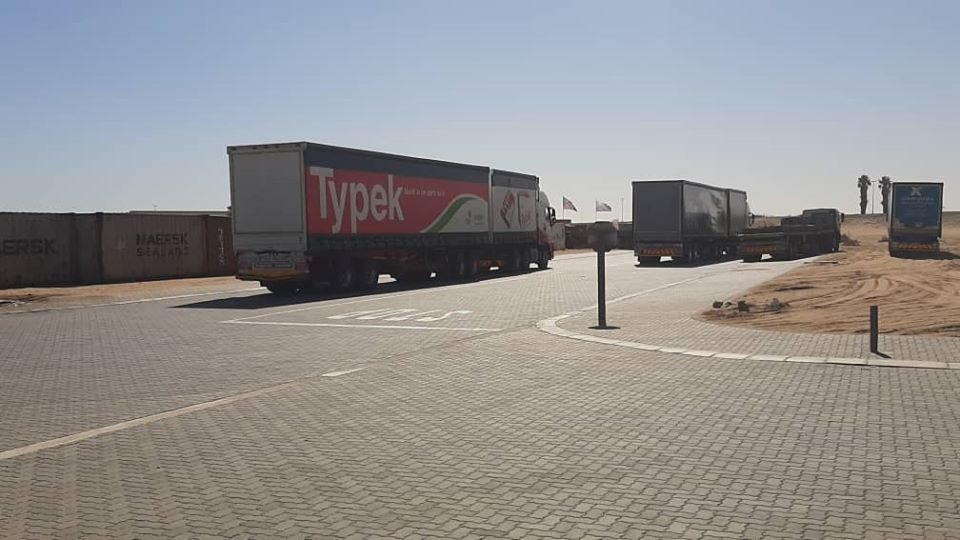 health authorities Walvis Bay alerted search border truck driver 75 new COVID-19 cases registered