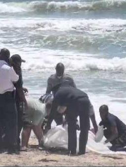 Dead body Swakopmund beach Police Erongo Region identify Friday