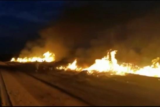 Otjozondjupa communities unite to subdues raging fire