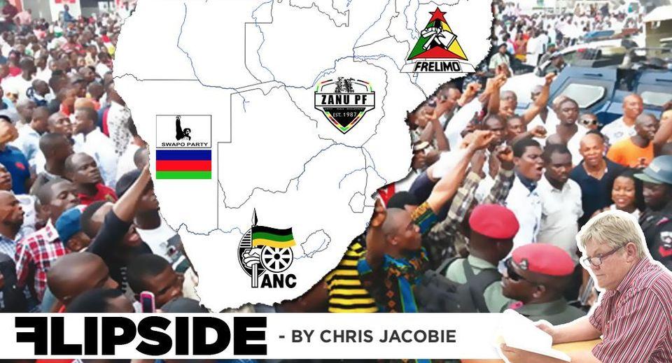 Democracy revolution empowered technology world Namibians