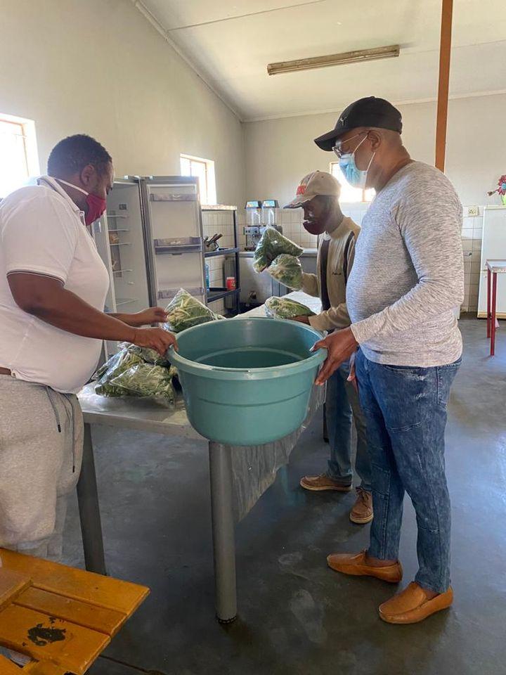 Dumpsite residents food dumpsite garbage Tsumeb cases home