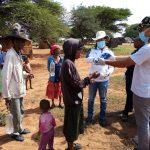 Marginalised community receive soap