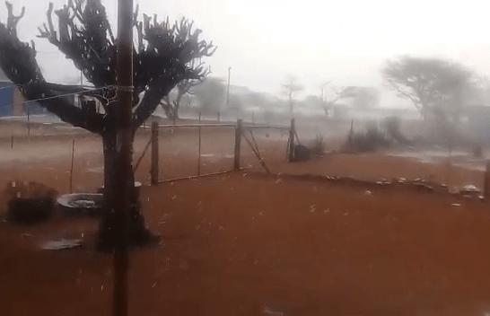 Namibians celebrate good first rains