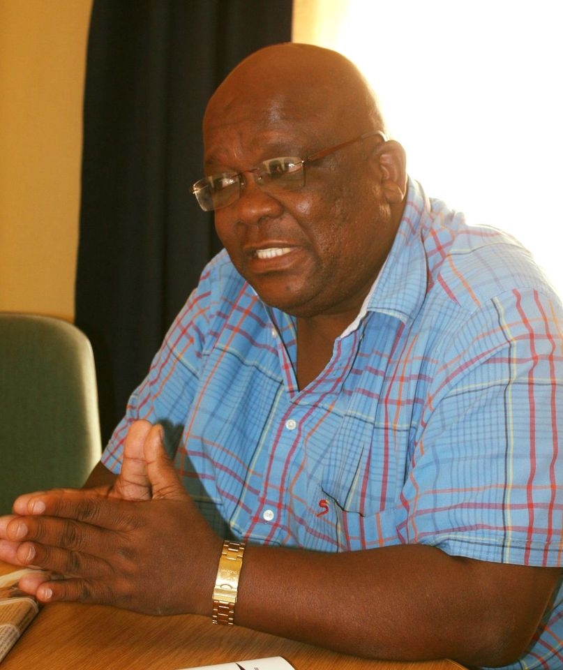 President tribute late Seth Boois Namibian football sport passed away