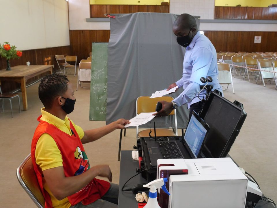 voters registration points register Regional Council Local Authority elections