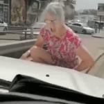 Road rage after fender bender
