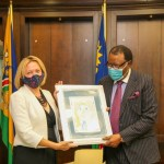 Namibia lauded for good democracy