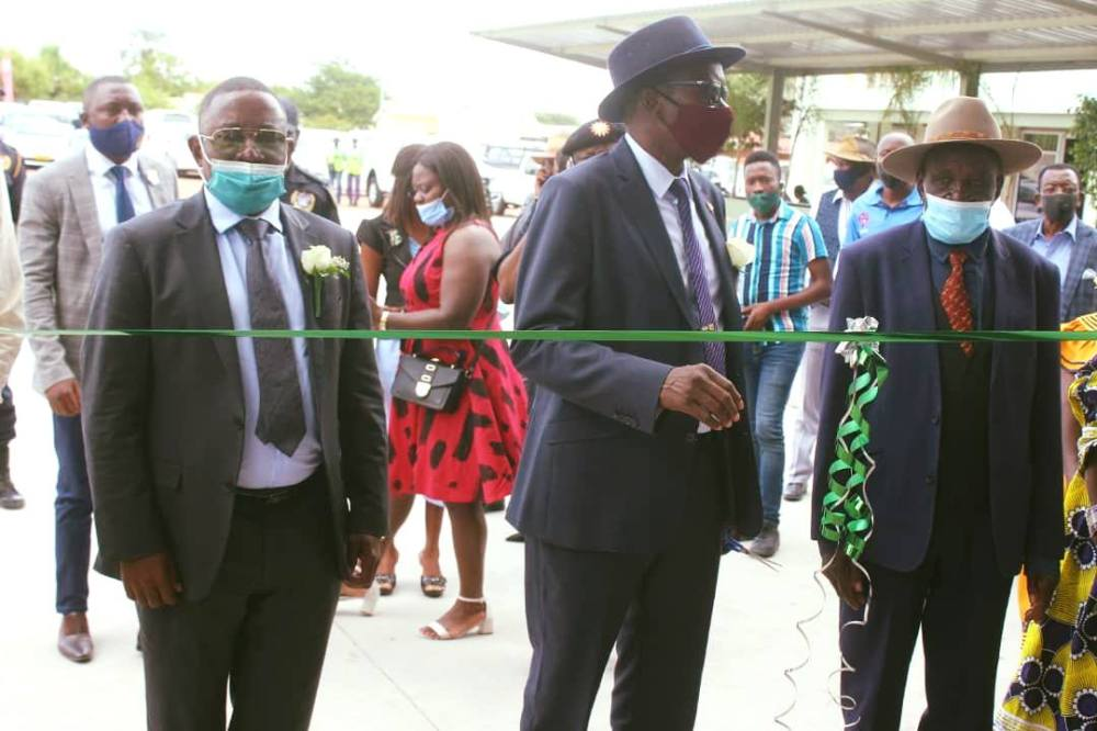 Chicco mall officially inaugurated development private sector job creation