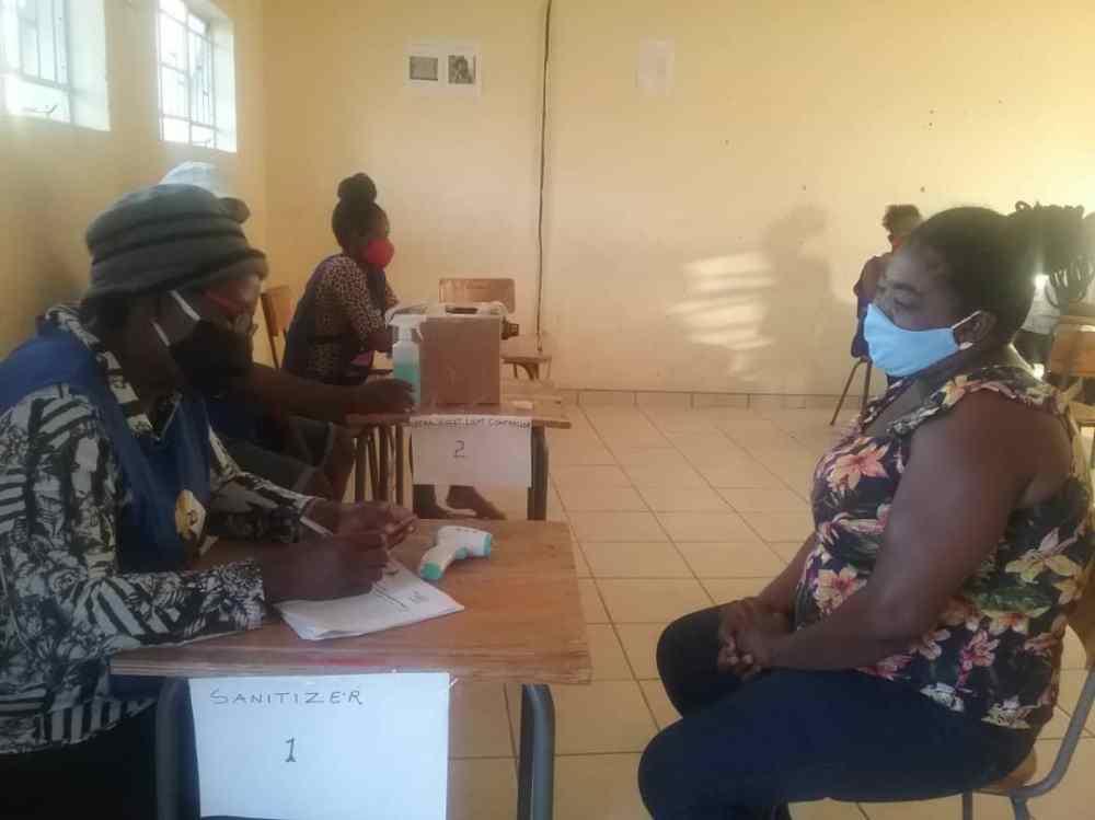 Independent Candidate Okatana constituency Joakim Kanisius polling station Ondjonjo village