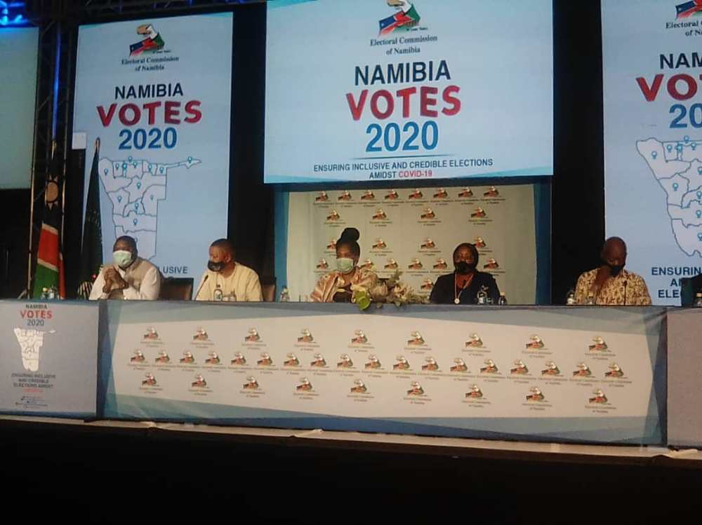 Electoral Commission Namibia votes pencils pens