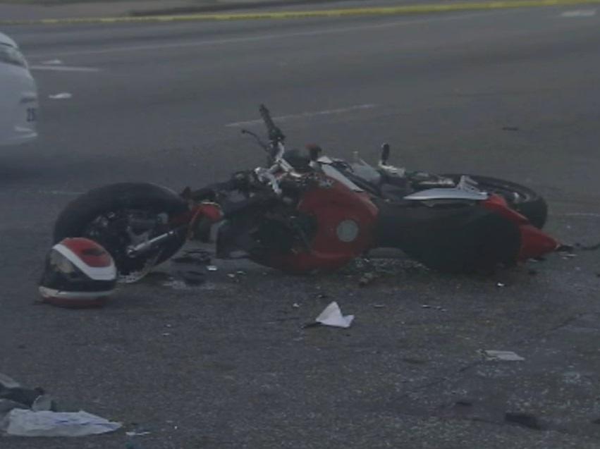man Walvis Bay injured crashed Harley Davidson motorcycle vehicle