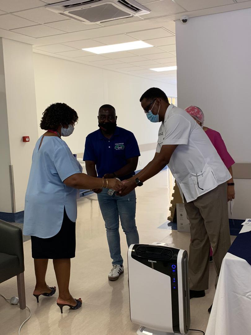 Hospital receives equipment Ongwediva Medipark