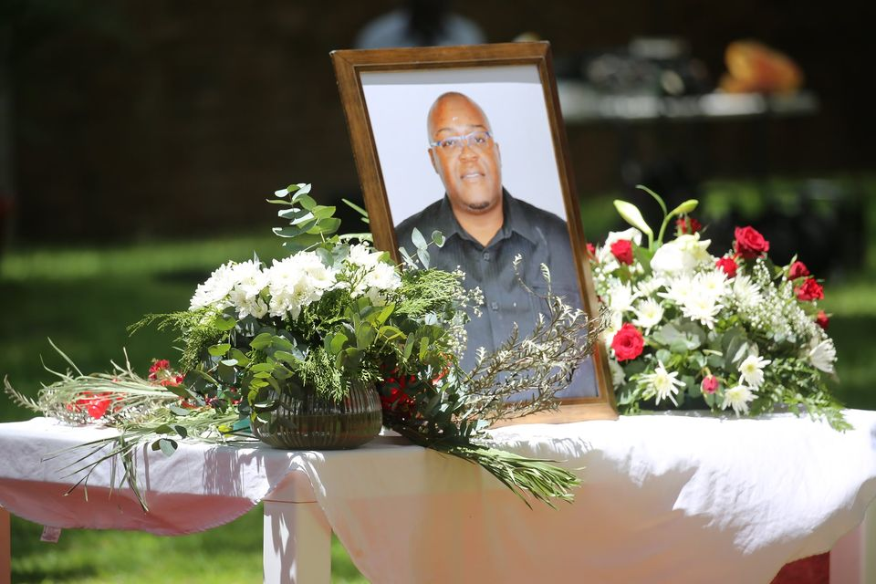 Mandela Kapere official state funeral buried Pionierspark cemetery