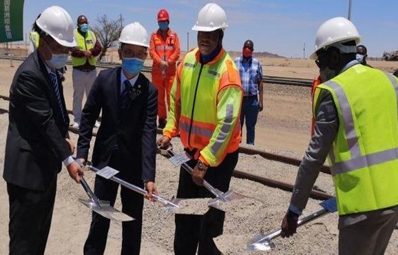 Railway rehabilitation project starts Namibian government transport logistics southern Africa
